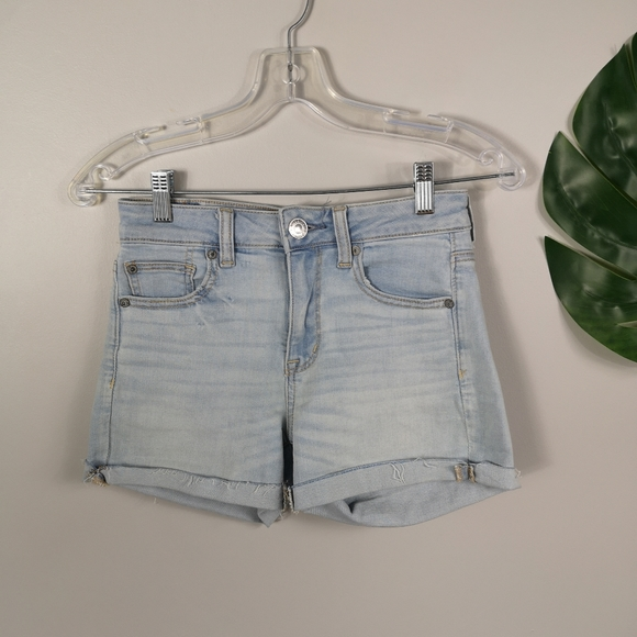 American Eagle highrise shortie